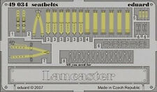 eduard 49034 1/48 Aircraft- Seatbelts Lancaster for Tamiya (Painted)