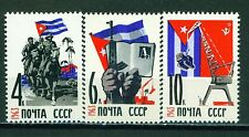 Russia Cold War Caribbean Crisis set 1963 MNH