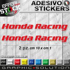 Adesivo / Sticker HONDA RACING cbr vtr vfr integra hornet cb 1000 600 rr cbf