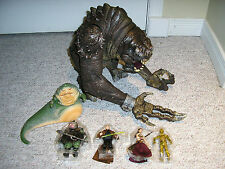 Star Wars Black Series JABBA'S RANCOR PIT set TRU Exclusive - LOOSE