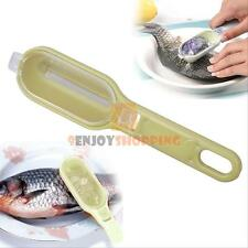 Fish Scales Skin Remover Scaler Shaver Fast Cleaner Brush Kitchen Clean Tool New