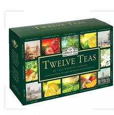 Ahmad Tea London Twelve Teas 60 Teabag Combination 12 different Teas