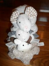 Pottery Barn baby stackable toy set ~ plush farm animals