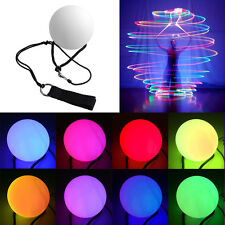 LED POI Thrown Balls for Flames Games Professional Belly Dance Level Hand P