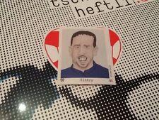 #245 Franck Ribery Francia tschutti heftli euro 2012 Pegatina Bayern Munich