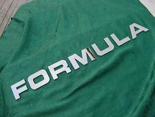 """FORMULA BOAT LETTERS EMBLEM LOGO CHROME 2-5/8"""" HIGH NEW 7 LETTER SETS! SAVE !!"""