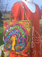 FAB LARGE NEW EARTHY BOHEMIAN SHOULDER BAG BOHO FESTIVAL DREADS TOTE GYPSY