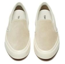 NEW TOM FORD MEN'S SAND CAMBRIDGE KID LEATHER SLIP-ON SNEAKERS SHOES 8.5/US 9.5