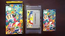 Super famicom SFC Super Bomberman 5 Boxed Japan game US Seller