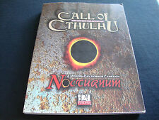 CALL OF CTHULHU NOCTURNUM CHAOSIUM RPG D20