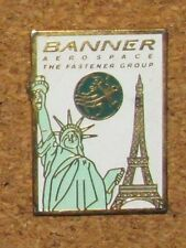 ANO1 EIFFEL TOUR  TOWER PARIS FRANCE PIN STATUE AEROSPACE LIBERTY