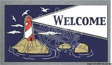"Osculati ""Welcome"" Anti-Skid Rug Carpet Floor Marine Lighthouse"