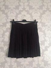 Comptoir Des Cotonniers superbe taille haute jupe noire taille 34 uk 6