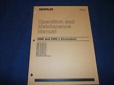 CAT CATERPILLAR 320C L EXCAVATOR OPERATION & MAINTENANCE BOOK MANUAL