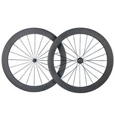 50mm Clincher Carbon Wheels Carbon Road Bike Bicycle Ultra Light Wheelset