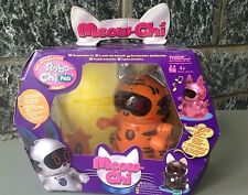 Hasbro #Tiger electronics Meow-Chi Interactive Robot Cat tiger color NIB