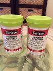Swisse Hunger Control (Appetite Suppressant) 2 X Jars 50 Tablets = 100 Tablets!