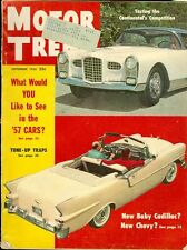 1956 Motor Trend Magazine: Continental Competition/El Moroccos/Tune-Up Traps