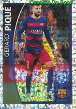 575 GERARD PIQUE  PLAYER WATCH FC.BARCELONA STICKER CHAMPIONS LEAGUE 2016 TOPPS