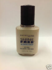 Maybelline Shine Free Oil-Control Makeup Foundation ( IVORY # 01 ) Shade #01 NEW