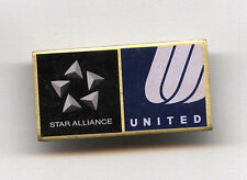 STAR ALLIANCE UNITED AIRLINES - AIRWAYS logo PIN