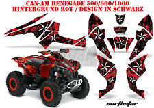 AMR RACING DEKOR GRAPHIC KIT ATV CAN-AM RENEGADE,DS250, DS450, DS650 NORTHSTAR B