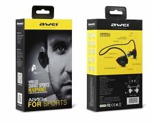 Awei A840BL Bluetooth Wireless Sports Earphone Noise Isolation Headset NFC w/Mic