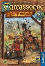 Around the World: Carcassonne Corsa all'Oro - Gioco da Tavolo - Nuovo, Italiano
