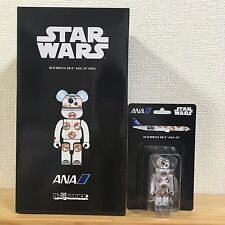 Be@rbrick 2016 Star Wars BB-8 400% & 100% set ANA Jet Bearbrick Medicom limited