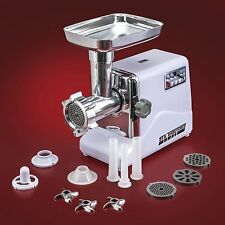 Best Electric Meat Grinder Small Saw With Deer Buffalo Sausage Stuffer Maker New