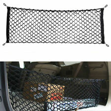 Car Trunk Rear Cargo Organizer Storage Net Elastic Nylon Hammock Holder Mesh Kit