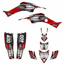 TRX 400 EX Graphics kit for Honda 1999 - 2007 400EX custom deco #1200 Red