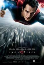 MAN OF STEEL (2013) ORIGINAL Regular DOUBLE SIDED MOVIE FILM POSTER Superman Fly