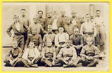 cpa CARTE PHOTO TOUL Soldats du 68e Régiment de Génie Militaires Uniformes