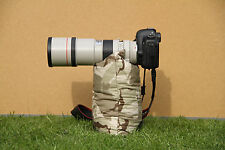 "Desert Camouflage UNFILLED Camera Rest Bean Bag 35cm x 22cm or 9"" x 14"""