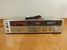 Technics RS-M229X Stereo Cassette Deck Recorder DBX 1984 Japan TESTED Works Nice