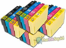 16 T1291-4/T1295 non-oem Apple  Ink Cartridges fits Epson Stylus WF3530DTWF
