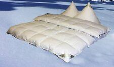 Eiszeit Premium 10 cm Winter Hochsteg Daunendecke Daunenbett 4x6  135x200 cm