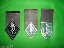 3 Different Idf Zahal Nahal Nachal Shoulder Tags 1 OBSOLETE  EMBROIDERED  Israel