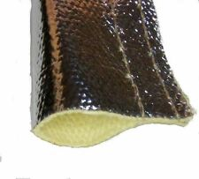 19mm ID Tempreflect Reflective Heat Shield Sleeving Sold Per Metre