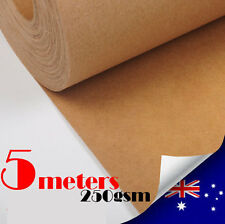 5M Kraft Paper Roll 250gsm/1000mm Wide Pattern Drafting Blocks  For DressMaking