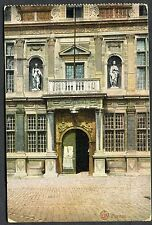 C1920's View of the Entrance to Old Court House Furnes (Veurne)
