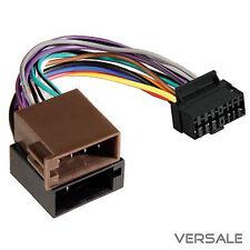Auto-Radio Adaptador Cable Enchufe para Sony DIN ISO 16 pin arnés para coche
