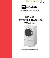 Maytag Epic Z Front Load Washer Service & Repair Manual