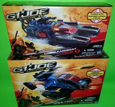 GI Joe H.I.S.S. TANK & COBRA FANGBOAT Swamp-Viper Retaliation Movie