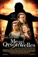 POSTER ME AND ORSON WELLES ZAC EFRON CLAIRE DANES BIG