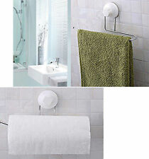 Hanger Towel Tissue Toilet Paper Holder Rack Suction Bathroom Kitchen Organsier