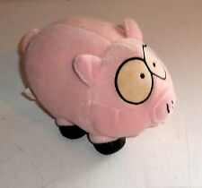 "Vintage 1998 Comedy Central South Park - FLUFFY THE PIG - 4"" Plush Toy (C48)"
