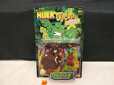 Hulk Outcasts CHAINSAW With Launching Bat Attack Action NEW 1997 ToyBiz