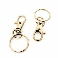 12 Heavy Duty39m clip,swivel,lobster,trigger clasps,hook,keyring,25mm split ring
